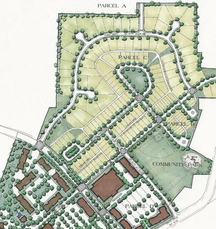 traditional neighborhood design plan