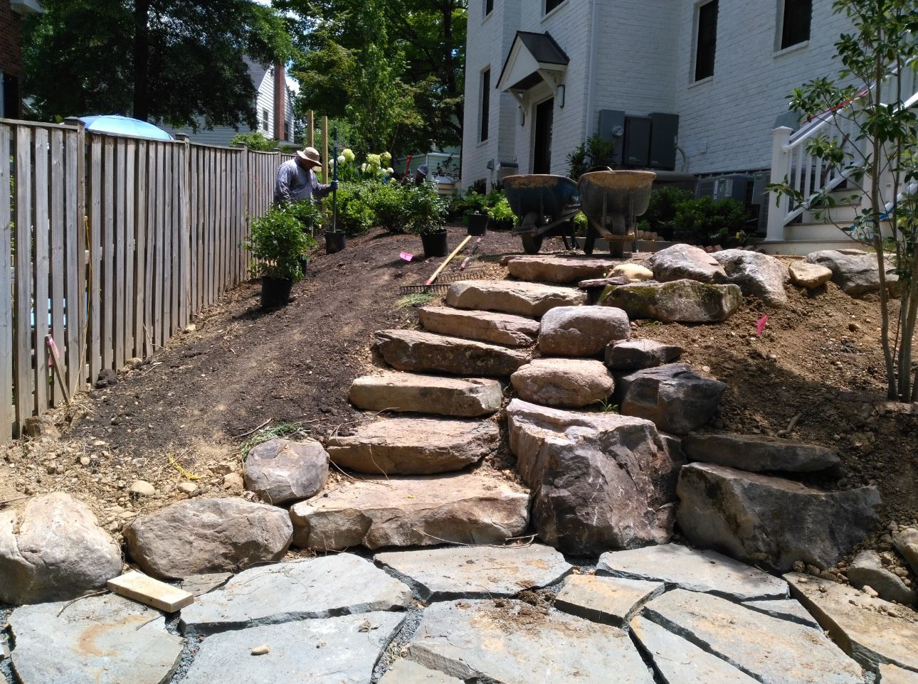boulder step construction in arlington virginia