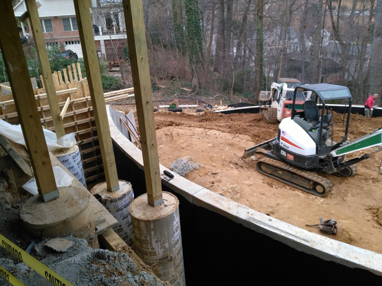 residential landscape construction in arlington virginia
